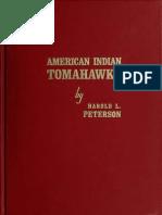 American Indian Tomahawks