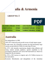 Australia and Armenia