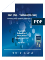 Smart Cities – From Concept to Reality