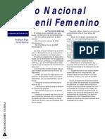 Equipo Juvenil Femenino-Concentraciones Temporada 2001-02