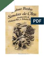 Matsuo Basho. Senda de Oku.