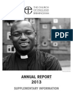 Annual Report 2013 - Supplementary