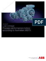 ABB Catalog for Process Performance Motors Acc to AU MEPS_05-2014_LOW