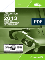 2013 Fuel Consumption Guide
