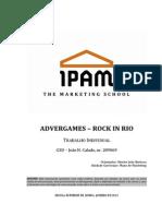 Advergames – Rock in Rio