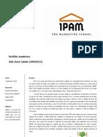 Portfolio Joao Nuno Calado in IPAM