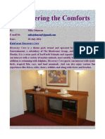 Discovering the Comforts