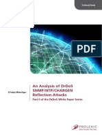 An Analysis of DrDoS SNMP-NTP-CHARGEN Reflection Attacks White Paper A4 042913