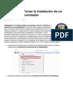 Windows 7 Forzar La Instalacion de Un Programa o Controlador 3537 Ksp473