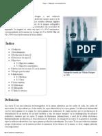 Rayos X - Wikipedia, La Enciclopedia Libre