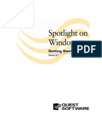 Spotlight on Windows Getting Started