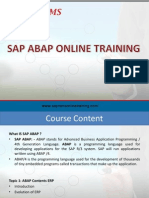 SAP ABAP Online Training | Online SAP ABAP Training | SAP ABAP Online Course