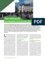 Lille, une métropole accessible aux portes de l'Europe - Etre Handicap Information # 132 - Juillet-août 2014