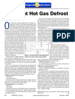Ashrae Journal - A Look at Hot Gas Defrost