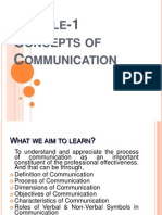 Ch-1 Communication about skills