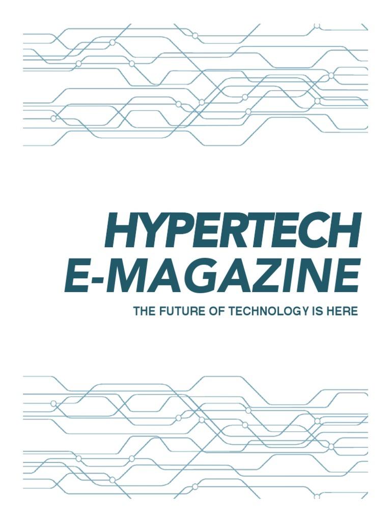 Hypertech E Magazine Holography Augmented Reality Kal Bone Defense 90s