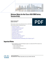 Release Notes for the Cisco ASA 5500 Series Version 8.4(x)