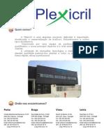 Catalogo Plexicril