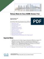 ASDM 7.1(x)