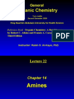 Lecture 22- Amines