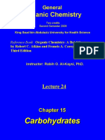 Lecture 24- Carbohydrates