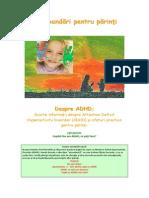 ADHD Basics Brochure, Romanian