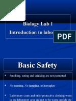 Biology Lab 1