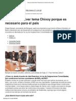 2014-02-24-Siglo 21-Hay Que Resolver Tema Chixoy Porque Es Necesario Para El Pa¡s