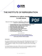 1335 IOR Initiatives for Reducing Energy Use in Cold Stores