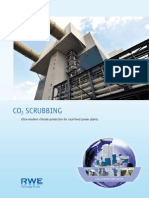 Brochure CO2 Scrubbing Ultra Modern Climate Protection for Coal Fired Power Plants