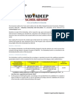 Vidyadeep Scholarship Terms - Fall Drive(1)