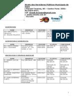 Convênios Médicos 2014 Atualizada