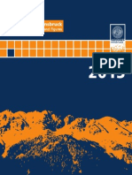 University of Innsbruck - Facts and Figures 2013