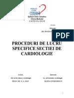 Proceduri Lucru Cardiologie