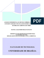 """Análise Experimental Do Reforço Híbrido de Vigas """"t"""" de Concreto Armado Com Colagem Externa de Compósitos de Fibra de Carbono e de Vidro"""