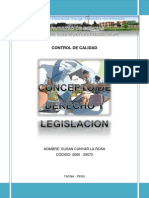 Concepto de Derecho y Legislacion