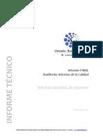 Informe Final Consultoría Gestión de La Calidad