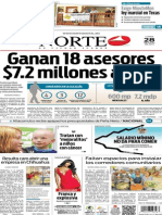 Periódico Norte edición del día 28 de julio de 2014