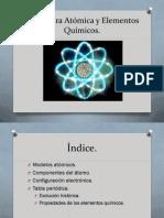 Tema 7 Estructura Atómica y Elementos Químicos GR1