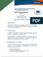 Desafio - Mba Em Gestão Estratégica de Negócios - 2013 c