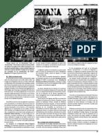 La Semana Roja de Montevideo (Primera Parte) Pascual Muñoz