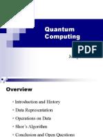 quantum computng