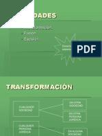 Reorganizacion Reorg, Fus y Transf