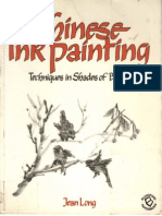 Chinese Ink Painting - Techniques in Shades of Black