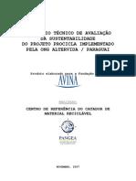 Sustentabilidade do Projeto PROCICLA – Paraguai