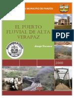 Monografía Del Municipio de Panzós Por Jorge Tercero