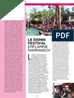 Sismix Festival by Winamax Article Dj Mag #5