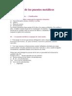 Estructura de Los Puentes Metálicos