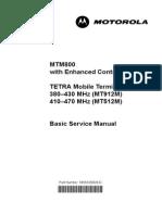 Mtm 800 e Service Manual