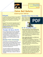 The Calvin Ball Bulletin Construction Edition, July 2014